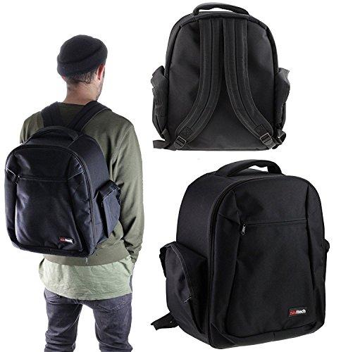 Navitech Noir Backpack Sac à dos Housse pour le HUBSAN H501S