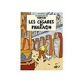 Poster Moulinsart Album de Tintin: Les cigares du pharaon 22030 (70x50cm)...