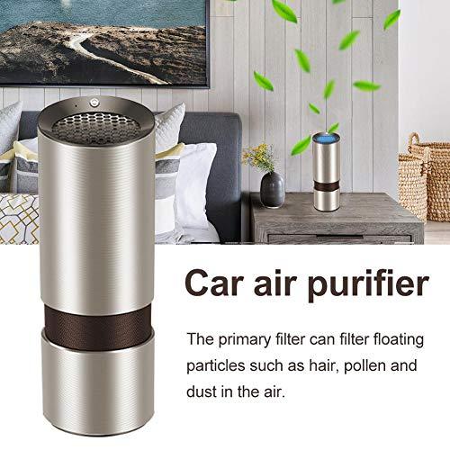 Auto-Lufterfrischer mit HEPA-Kohlefilter Bester Luftreiniger für Allergien und Haustiere, Rauch, Staub, Schimmel, Raucher
