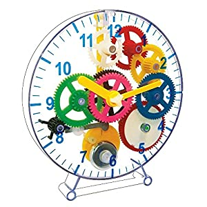 MAGNOIDZ Magnoidz-SC245 Labs-Reloj de Pared para niños, Multicolor (Keycraft SC245)