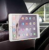 Lucklystar® Tablet Halterung Kopfstützenhalterung 360° Grad Einstellbare Rotierende Auto-Elektronik Zubehör Autositz-Kopfstützenhalterung Für iPad & Smartphone(Orange)