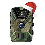Trail Camera, Hykamic 12MP 1080P HD Game&Trail Camera Waterproof IP66 Wildlife Scouting Camera