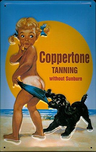 coppertone-sun-tanning-holiday-beach-sea-bathroom-3d-medium-metal-steel-wall-sign