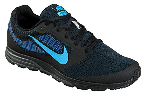 Nike Herren Air Zoom Fly 2 Sport & Outdoorschuhe Negro / Azul (Black / Blue Lagoon-Game Royal)
