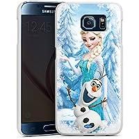 Samsung Galaxy S6 Hülle Case Handyhülle Disney Frozen Elsa & Olaf Geschenke Merchandise