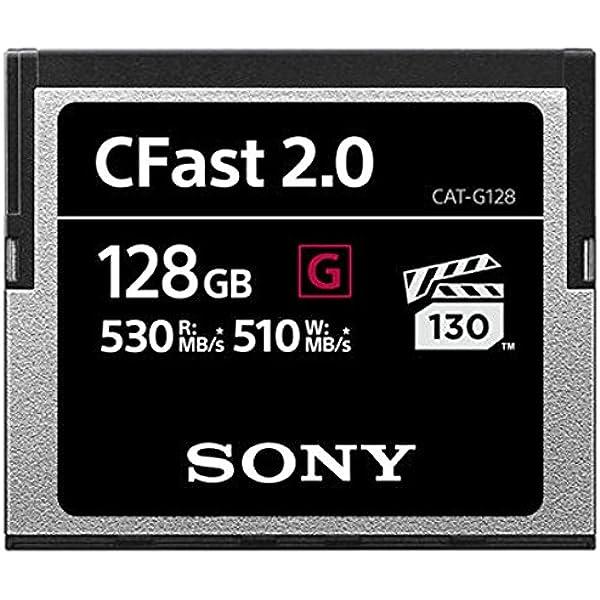 Sony 128 Gb Cfast 2 0 Professional Flash Speicherkarte Computer Zubehör
