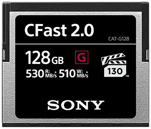 Sony 128 GB CFast 2.0 Professional Flash-Speicherkarte Sony Digital Still Camera