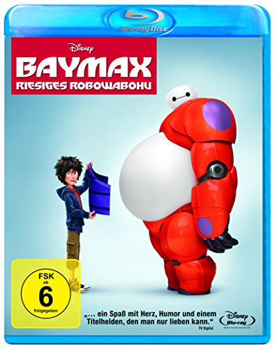 Bild von Baymax - Riesiges Robowabohu [Blu-ray]