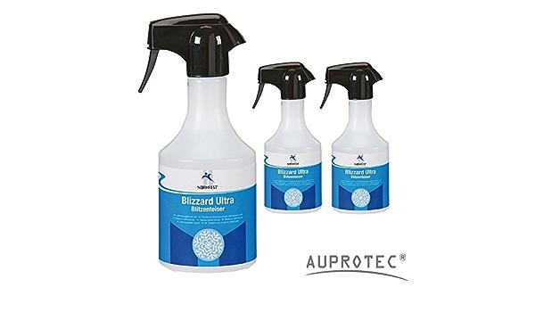 Auprotec Normfest Scheiben Enteiser Blizzard Ultra Enteisungsspray Blitzenteiser 500ml 3 Flaschen Auto