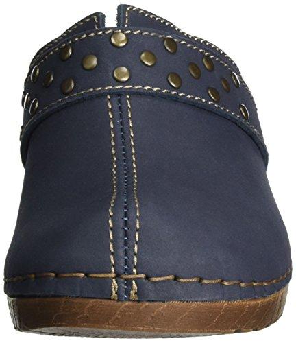 Jana 27304, Sandales Bout Ouvert Femme Bleu (Navy 805)