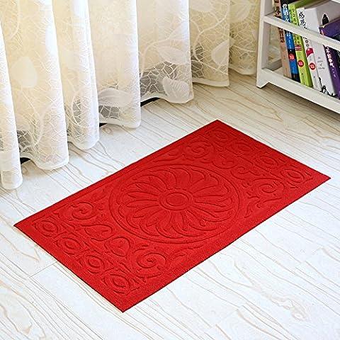 LINDONG-L'iscritto il pad di gate zerbino antiscivolo tappetino in gomma