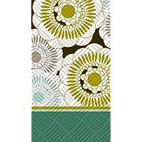 Cypress Home, motivo floreale goffrato, motivo: porta asciugamani di carta per ospiti, confezione da 15 - Goffrato Asciugamani Ospiti