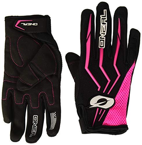 MX Handschuhe Schwarz Pink Motocross Enduro Offroad Quad MTB DH, 0392-7, Größe L ()