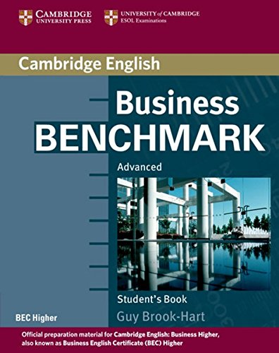 Business Benchmark: Internationale Ausgabe. Student's Book BEC Higher Edition