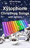 Xylophone Christmas Songs: with letters (English Edition)