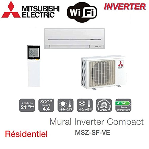 MURAL INVERTER COMPACT MITSUBISHI MSZ-SF50VE