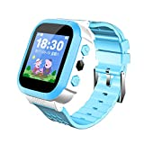 b708396ed WATCH GYQ@ Estudiante teléfono Reloj Pantalla táctil posicionamiento  Inteligente Reloj Infantil Regalo electrónico,Blue