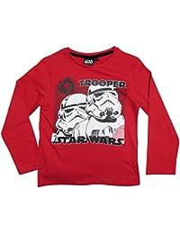 Star Wars Kollektion 2016 Langarmshirt 104 110 116 122 128 134 140 146 Shirt Jungen Neu T-Shirt Pullover Klonkrieger Yoda Darth Vader Sturmtruppler Stormtrooper