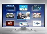 Panasonic TX-L55WT50E 140 cm (55 Zoll) Fernseher (Full HD, Triple Tuner, 3D, Smart TV) -