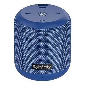 Infinity (JBL) Fuze 100 Deep Bass Dual Equalizer IPX7 Waterproof Portable Wireless Speaker (Mystic Blue)