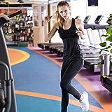 YR.Lover Damen 3er Pack Dry Fit Kompression Running Yoga Tank Top T-Shirt,  S, 3er Pack;schwarz.grau.weiß