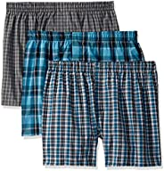 Hanes Ultimate Men's Hanes Ultimate Woven Boxers - Assorted Colors Boxer Sh