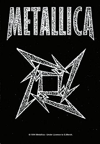 Metallica,Ninja Logo, Fahne (Rock Fahne)