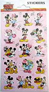 FUNNY PRODUCTS - Pegatinas de Mickey y Sus Amigos (Mini), Multicolor