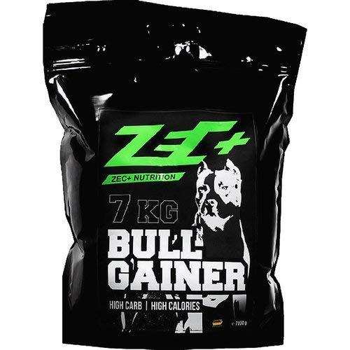 ZEC+ Bullgainer Protein-Pulver - 7000 g, Eiweiß Supplement mit Proteinen & Kohlenhydrathen, idealer Protein Shake für Krafttraining, Geschmack Erdbeere (Shake Pulver Gesundheit)