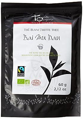Touch Organic Thé Blanc Vrac 60 g - Pack de 6 - Bio