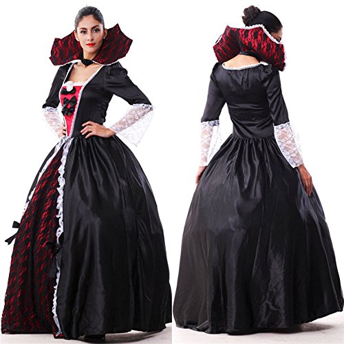 Crazy Sell Damen Schwarz Witch Weihnachten Party Kostüm Fancy Anime Cosplay Party Kleider