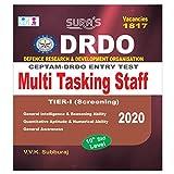 DRDO CEPTAM Entry Test Multi Tasking Staff Tier - I Screening Exam Book in English