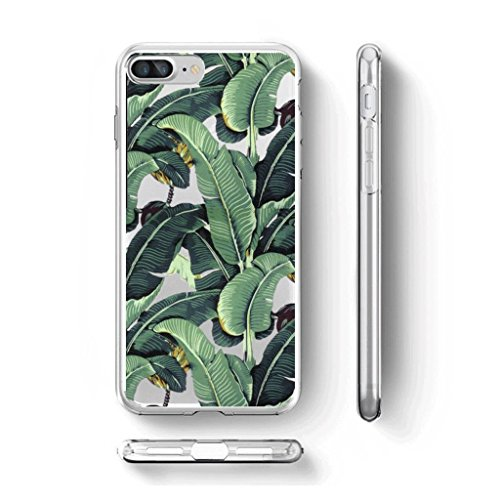 "Coque pour iPhone 7 Plus / iPhone 8 Plus , IJIA Transparent TPU Doux Silicone Bumper Case Cover Shell Housse Etui pour Apple iPhone 7 Plus / iPhone 8 Plus (5.5"") WM107"