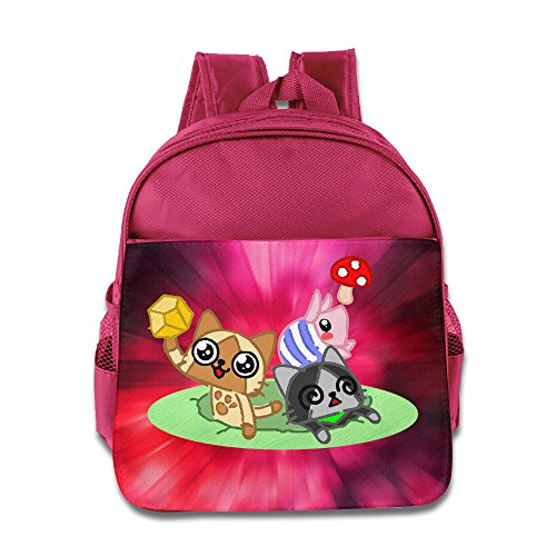 Discovery Wild Child Kinder Kinder Rucksack Schule Tasche, Happy Time - Pink -