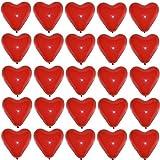 bestehemden 25 große Premium Herz Luftballons Farbe Rot Ø 30cm Helium geeignet Markenqualität Party Hochzeit Geburtstag Herzluftballons