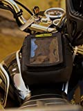Golden Riders's M-POCHE' Motorcycle Tank Mobile Pouch/Cover/Holder with Rain-Cover