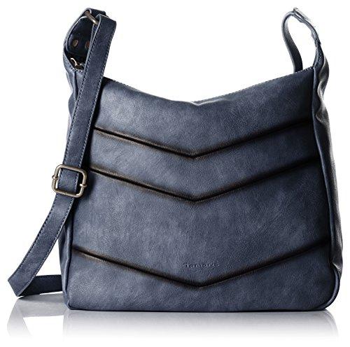 Tamaris Damen Sally Crossbody Bag Umhängetaschen, Blau (Denim 802), 42x37x13 cm