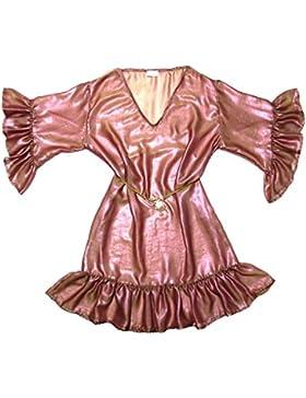 Xarismania tunica camicetta donna bicolore rosa-oro tg.44-46