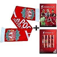 Offizielle Liverpool FC 2019 Fußball Kalender (A3) Und Fans Schal Geschenk Set