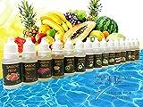 15x10 ml liquide vaper, e-liquide Pour les cigarettes électroniques 60VG / 40PG...