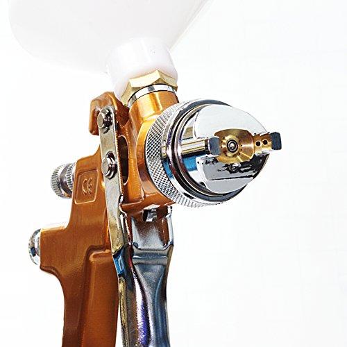 Pistola a spruzzo professionale H.V.L.P -Vernice spray vernice spray Stole HVLP Oro 2.5mm
