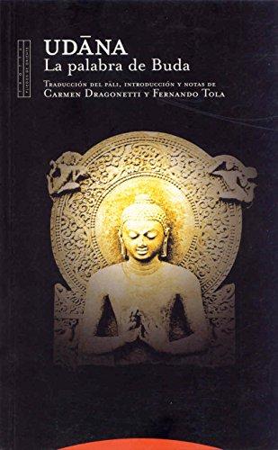 Udana: La palabra de Buda (Pliegos de Oriente)
