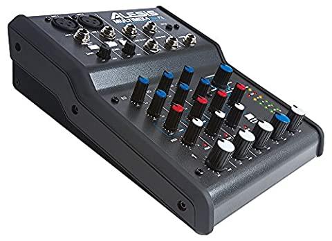 Alesis MultiMix 4 USB FX, 4 Channel Mixer with Effects
