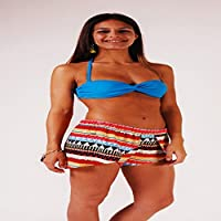 L.Bolt Gipsy Hawaian Ocean Pantalones Cortos de Surf, Mujer, 26