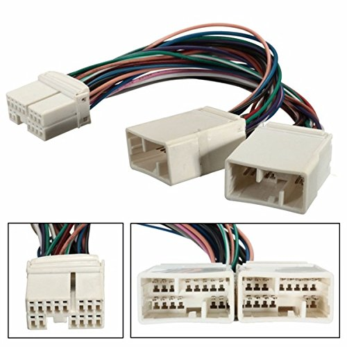 Forspero Y Cable Splitter Für Aux CD Changer Navigation XM Radio Ipod Adapter Fits Honda