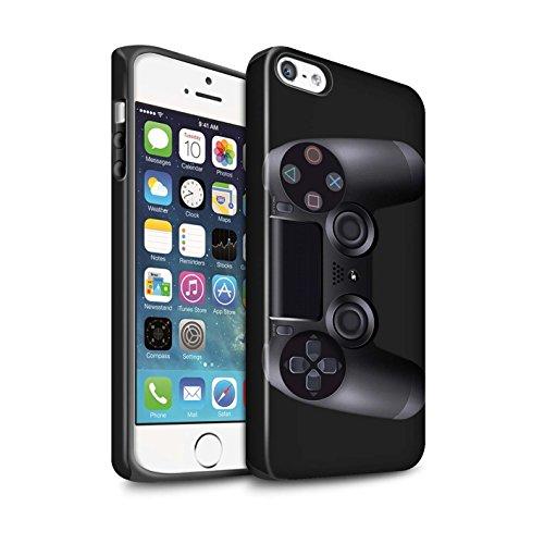 STUFF4 Matte Harten Stoßfest Hülle / Case für Apple iPhone SE / Nintendo Game Boy Muster / Spielkonsolen Kollektion Playstation PS4