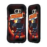 Head Case Designs Officiel Justice League Action Darkseid Art Personnages Coque Hybride Compatible avec Samsung Galaxy S7 Edge