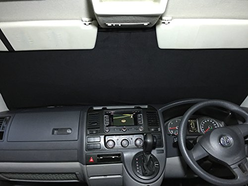 Fuel Lagoon T5 Transporter Campervan Tailored Thermal Screen Blind Cover window Silver 2