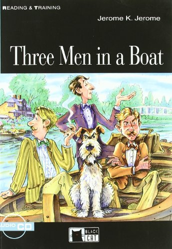 Three Men In A Boat (+ CD) (Reading and training)