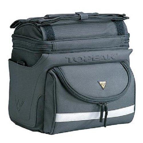 Topeak Unisex Tourguide Handlebar Bag Dx with Fixer 8 Lenkertasche Black